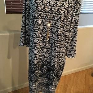 NWT Tacera dress w/ built in necklace